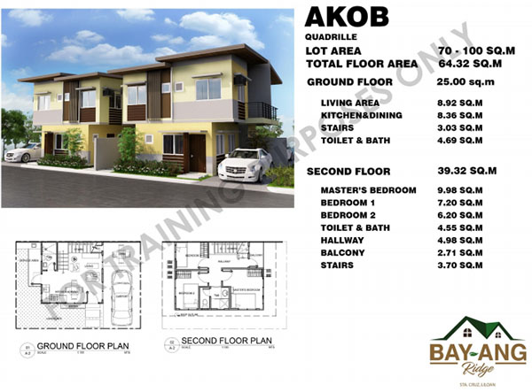 akp quadrille houses in bay-ang ridge liloan