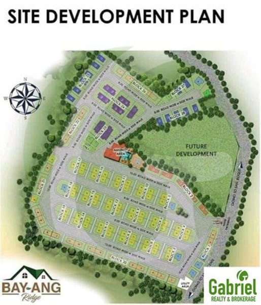 site development plan of bay-ang ridge liloan