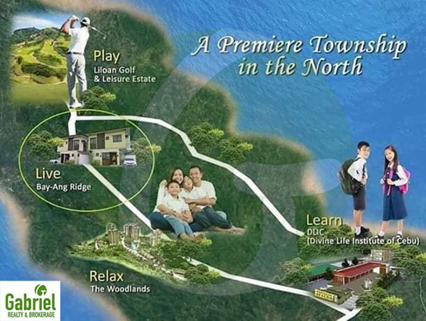 bay-ang ridge liloan township project in the north of cebu