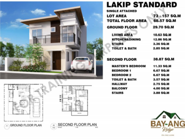 lakip standard model single detached house