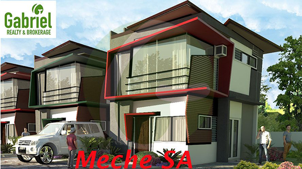 meche model single attached house for sale