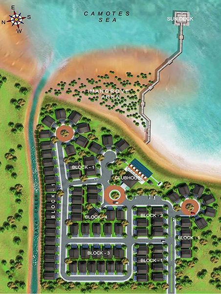 aduna beach villas subdivision master plan