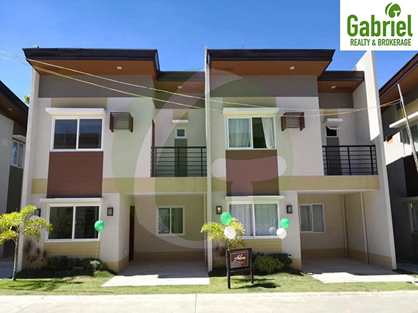 adora model, a 2-storey townhouses