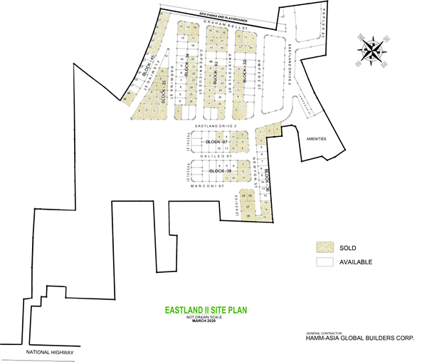 eastland estate site development plan