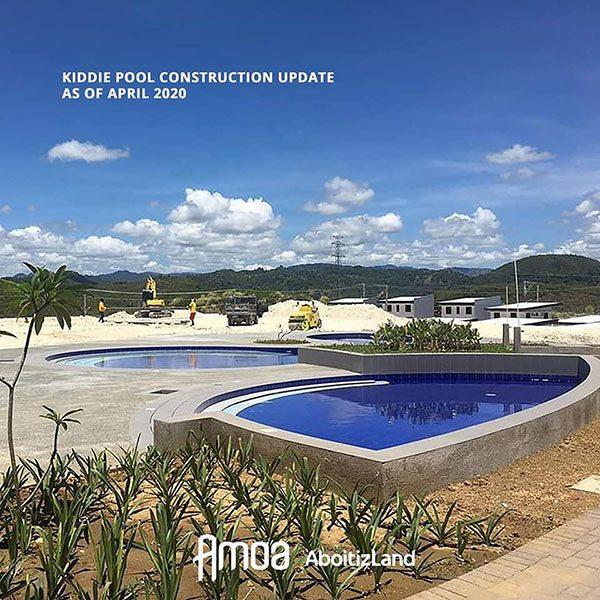 kiddie pool construction update