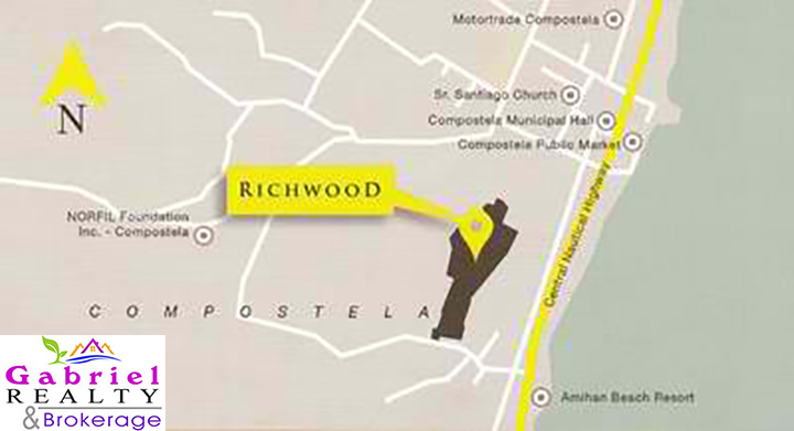 location of richwood in compostela