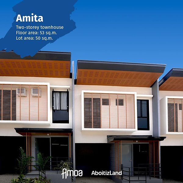 two storey townhouses in amoa compostela