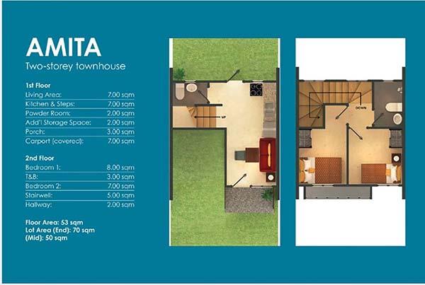 townhouse floor plan
