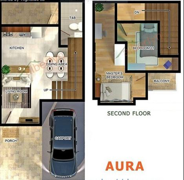 townhouse floor plan in box hill west