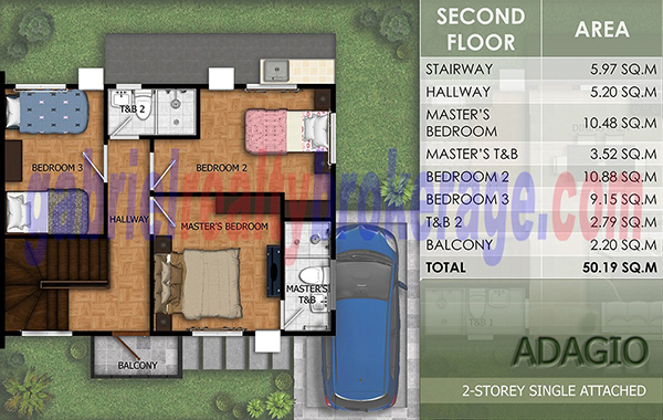 adagio model floor plan (2nd floor)