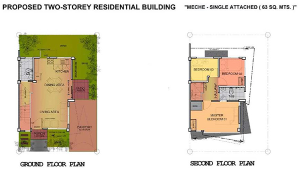 menche single attached floor plan in eastland estate liloan