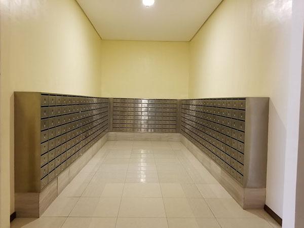 condominium's mailbox area