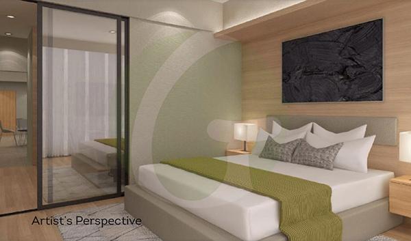 residential 1 bedroom floor plan
