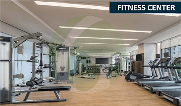 fitness center amenities