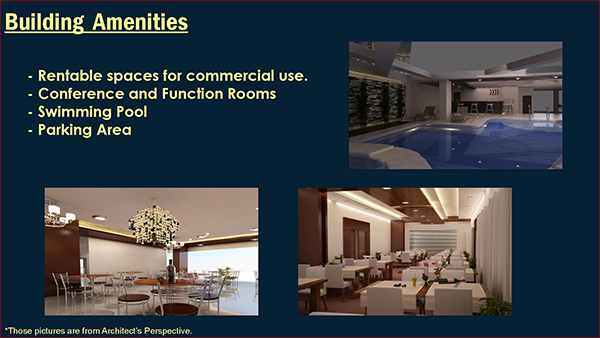 condo project building amenities