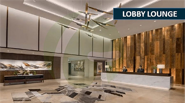 lobby lounge lay out