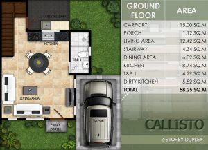 callisto floor plan