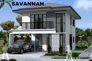 savannah model house