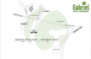 vicinity map of south verdana