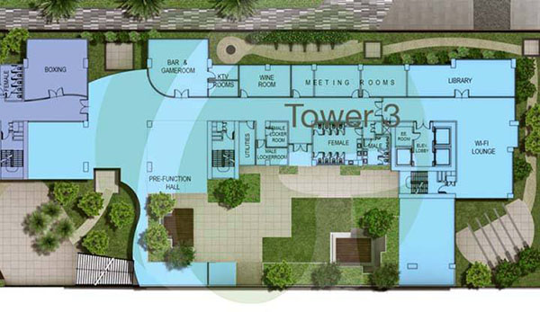 tower 3 site development plan