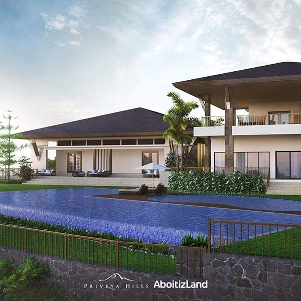 clubhouse and swimming pool