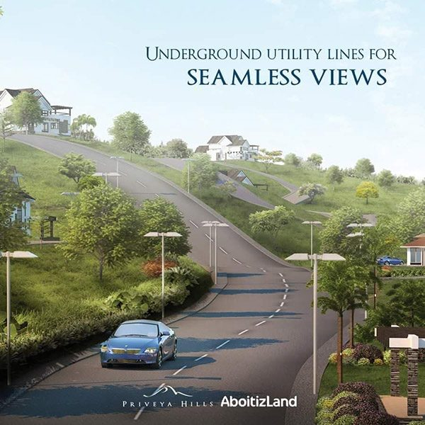 underground utility lines for seamless views