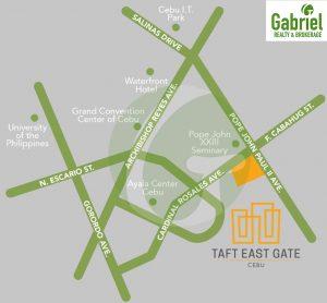 taft east gate vicinity map 2