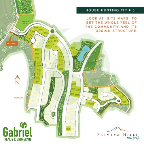 subdivision lot map