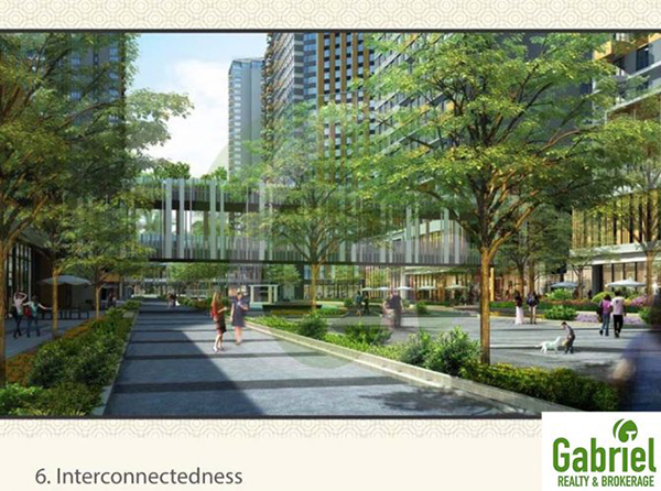 interconnectedness in all the condominium towers