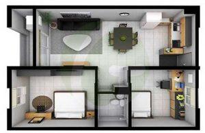 saekyung 2-bedroom