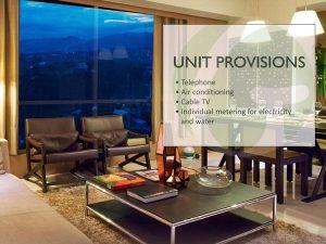 unit features