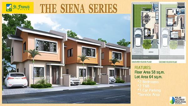 SIENA SERIES Single Detached Model