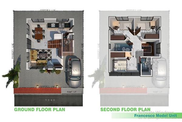 francesco model floor plan