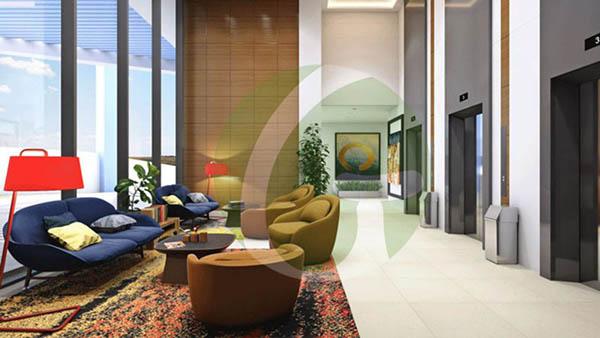 lobby in the condominium
