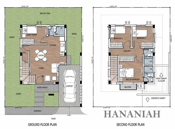 hananiah model floor plan