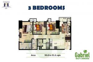 horizons 101 3-bedroom