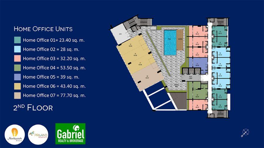 northwoods place building floor plan