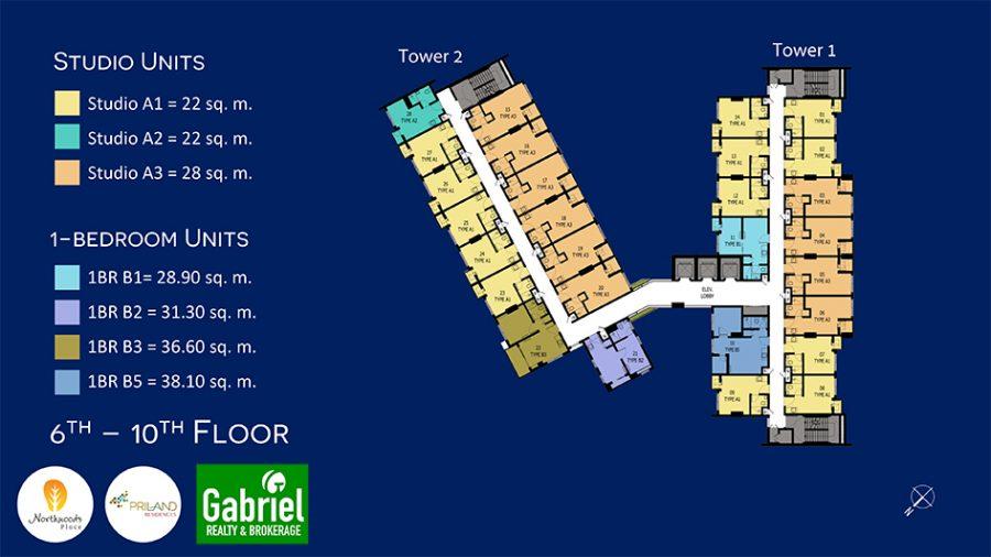 building floor plan of northwoods condominium