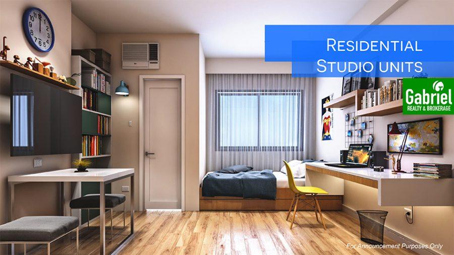 residential studio condominium in northwoods place