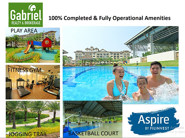 fully operational amenities in one oasis