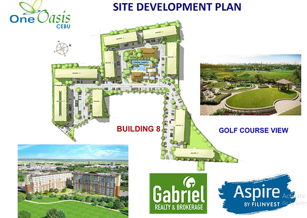 site development plan in one oasis