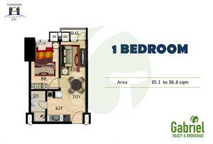 1-bedroom horizons 101
