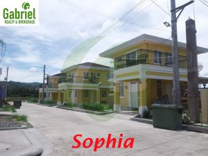 sophia model single detached house
