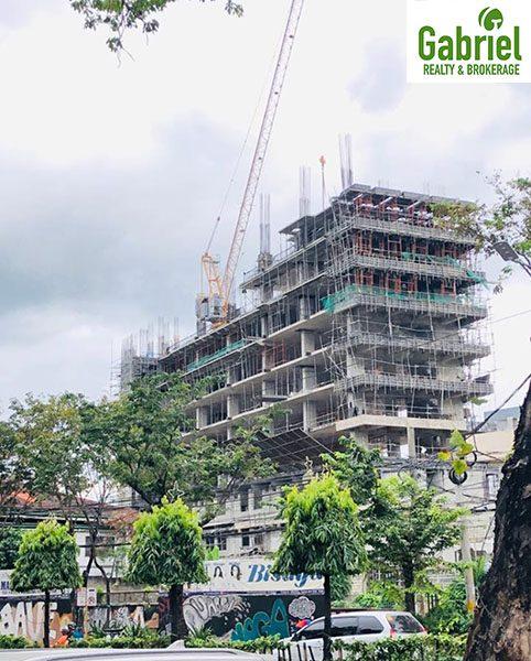 construction update of jones ave condominium