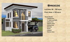 breeze model house
