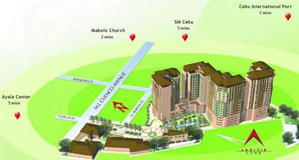 location of persimmon condominium