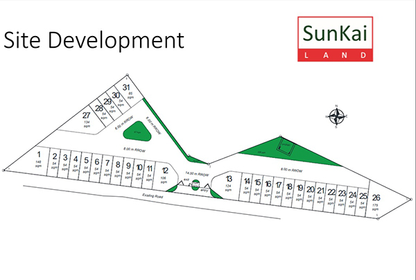 project development of sun hera residences