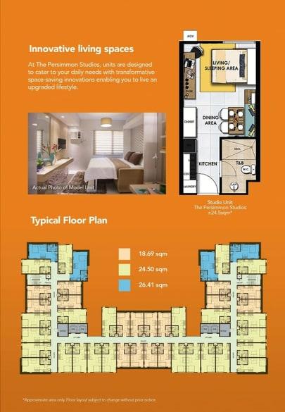 floor plan of the ready for occupancy condominium in cebu