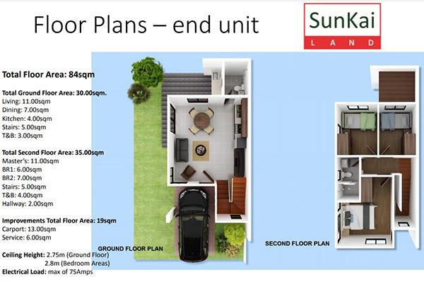 floor plan of sun hera residences