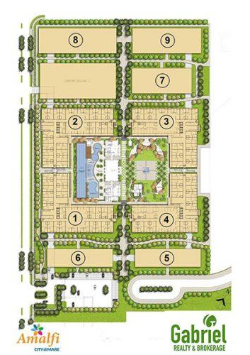 amalfi oasis site development plan